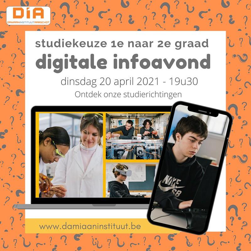 Digitale infoavonden van 2 naar 3