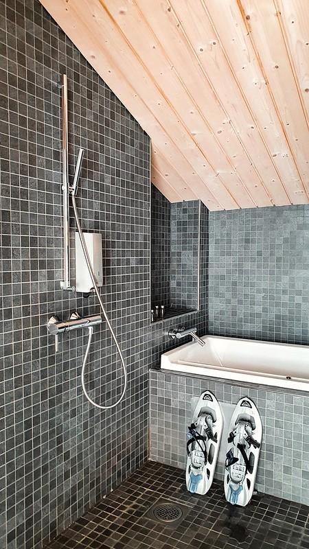 Halla Resort, kylpyhuone