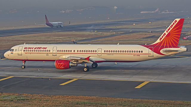 Air India A321 VT-PPK Mumbai (BOM/VABB)