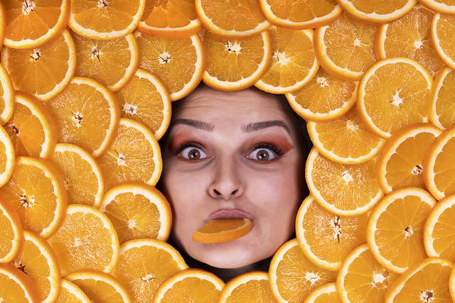 These oranges are delicious!
