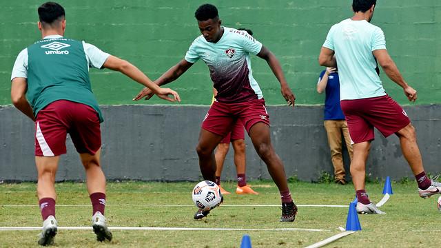 Treino do Fluminense 06/03/2021