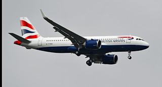 G-TTNO British Airways Airbus A320-251N Heathrow 060321  (2)