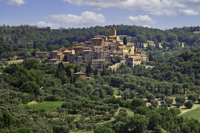 A Town in Tuscany