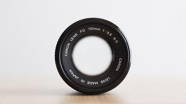 Canon FD135mm F3.5 S.C. (I) (1973)