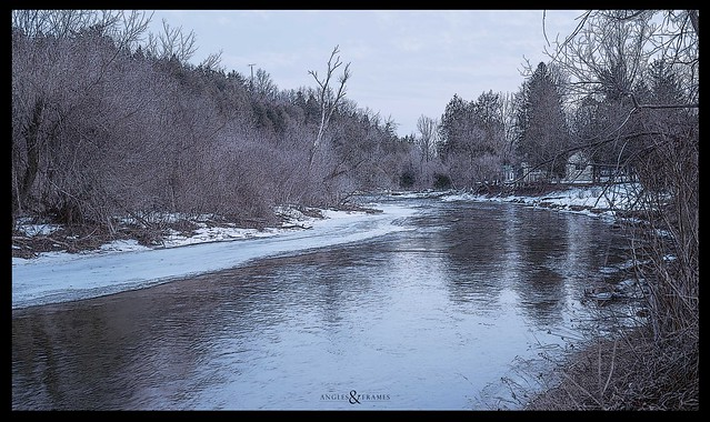 The riverbank.