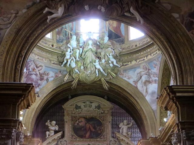 Eglise du monastère San Gregorio Armeno, Naples, Campanie, Italie.