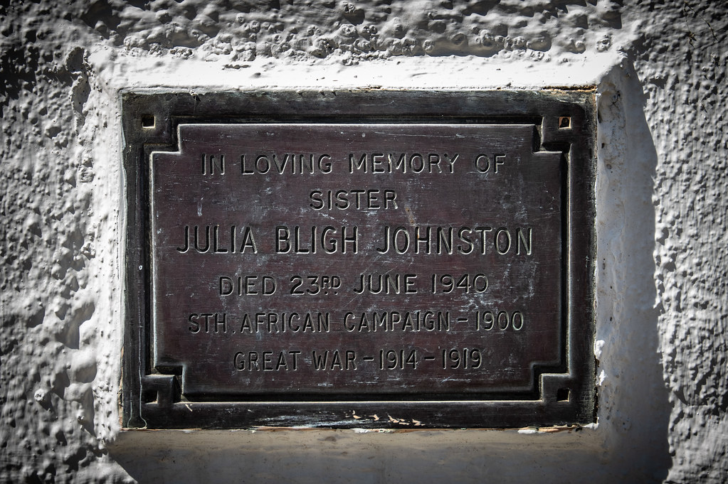 Matron Julia Bligh Johnston