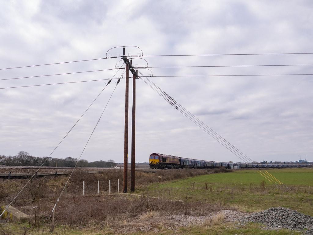 66056 6H62 Immingham Biomass Dbc to Drax Power Station, Rampart Lane UWCT Kellingley 06:03:21