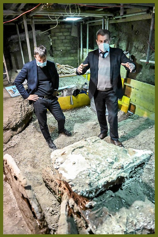 "ROMA ARCHEOLOGICA & RESTAURO ARCHITETTURA 2021. Tom Kington, ""WORLD AT FIVE - Pompeii story lives on as buried city keeps giving up its secrets."" THE TIMES / LONDON [foto: CHRIS WARDE-JONES] (06/03/2021); S.v., RAI Uffico Stampa & ANSA (27/02/2021)."