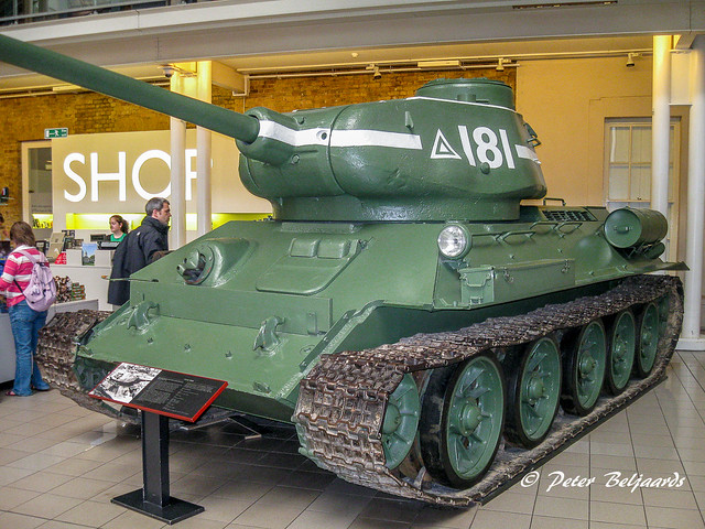 T-34 Tank, Imperial War Museum London