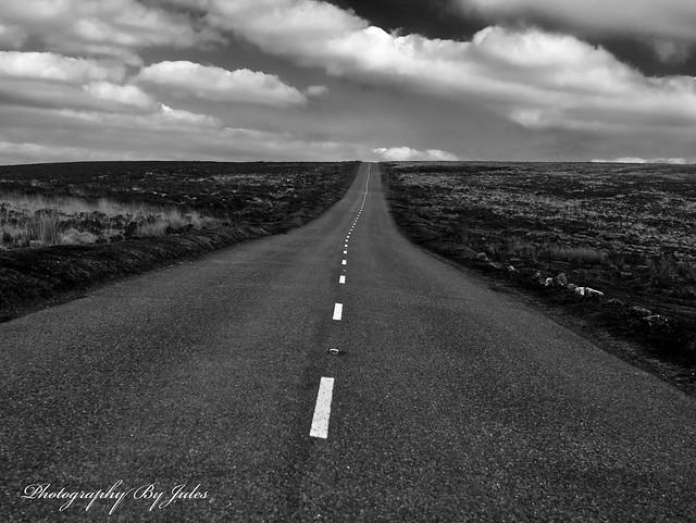 Distant Dartmoor.