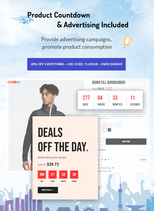 Azeno - Sport Fashion Ecommerce Prestashop Theme