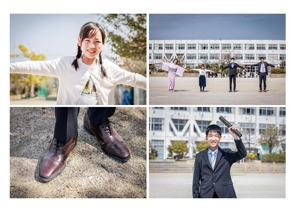 小学校卒業記念のファミリーフォト ロケーション撮影