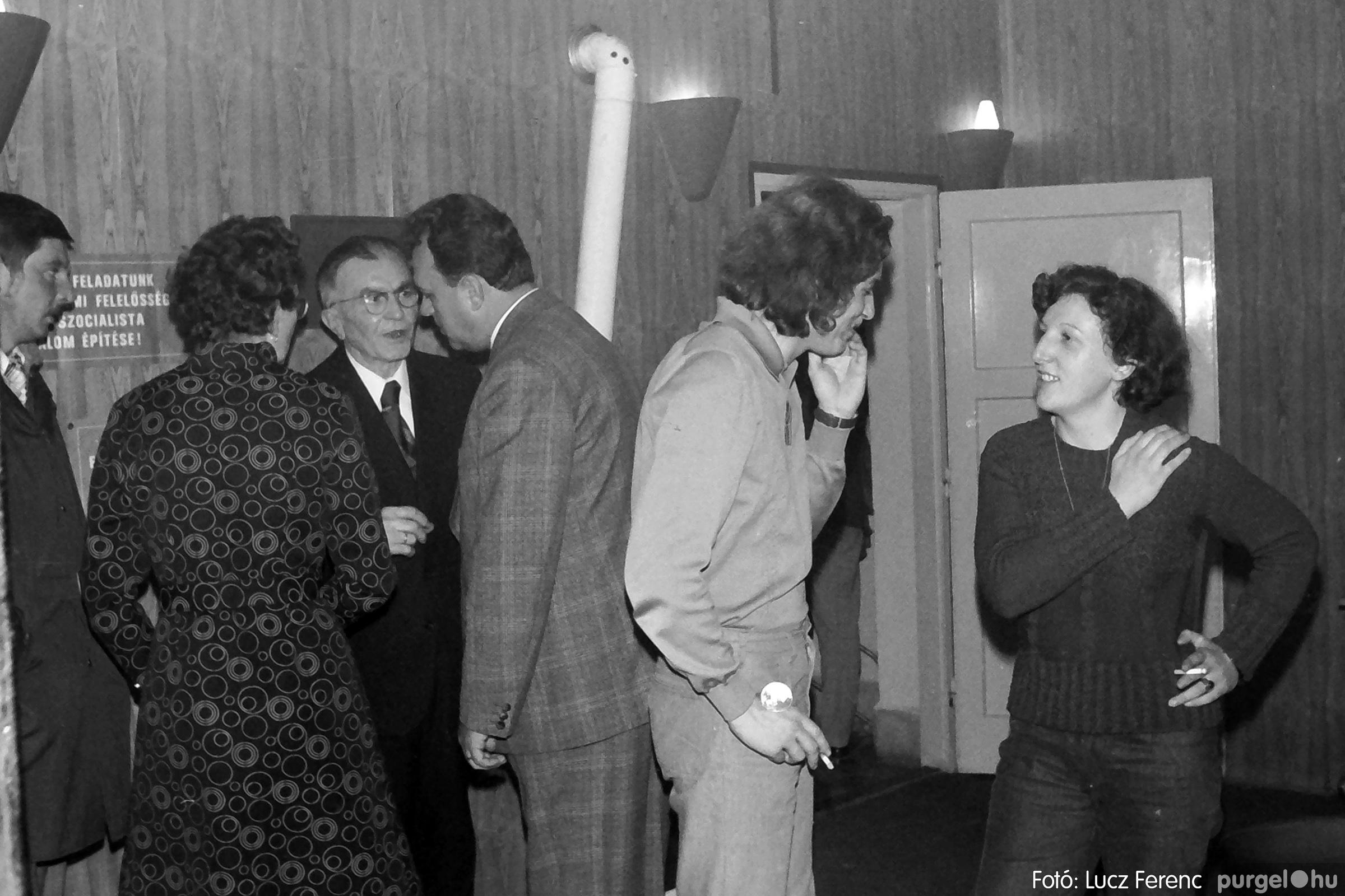 066-067. 1976. A Herkulesfürdői emlék című film ősbemutatója Szegváron 020. - Fotó: Lucz Ferenc.jpg