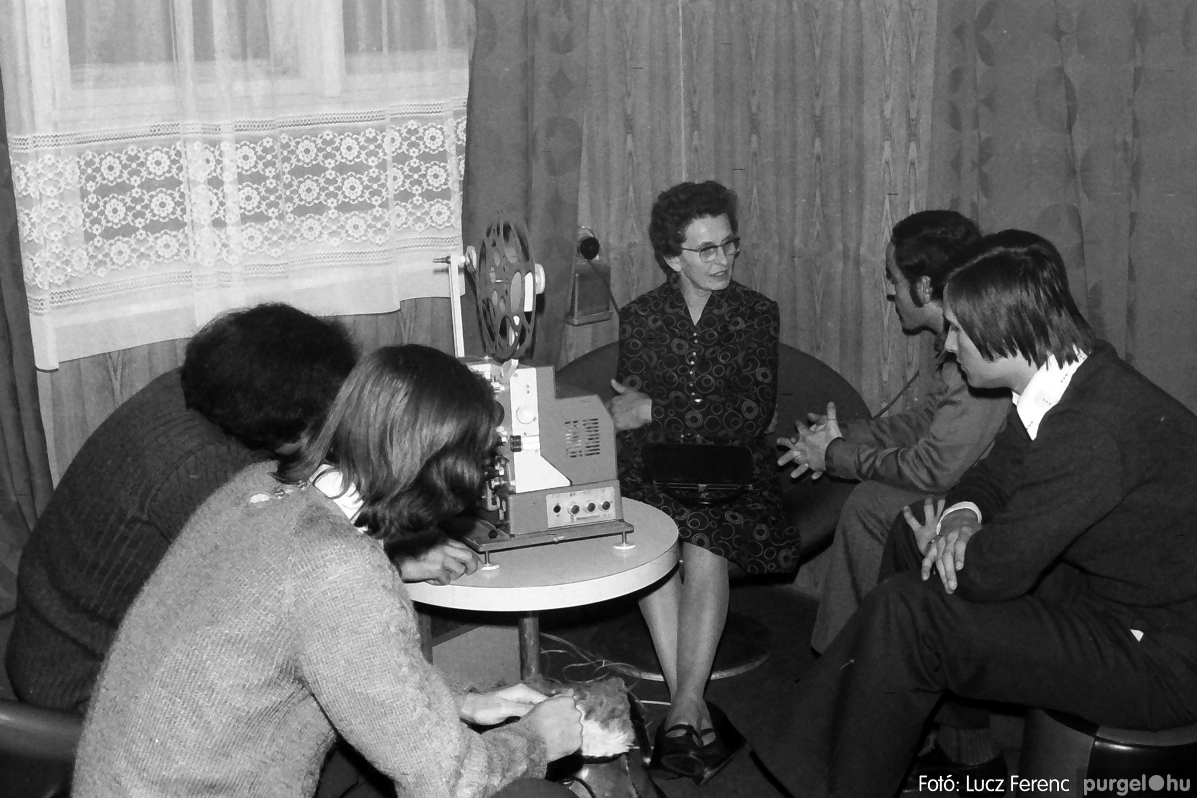 066-067. 1976. A Herkulesfürdői emlék című film ősbemutatója Szegváron 016. - Fotó: Lucz Ferenc.jpg