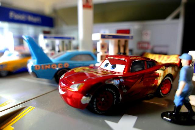 Lightning McQueen - Bijou Planks 65/365