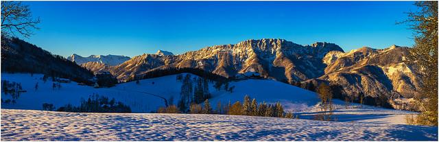 Morgenlicht Panorama