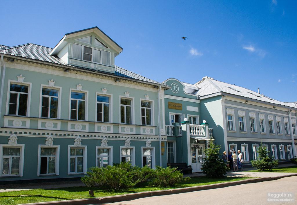 село Вятское где поесть