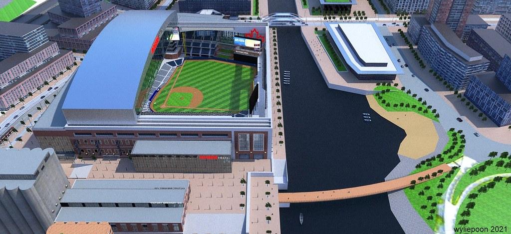 Fantasy Toronto East Bayfront Ballpark