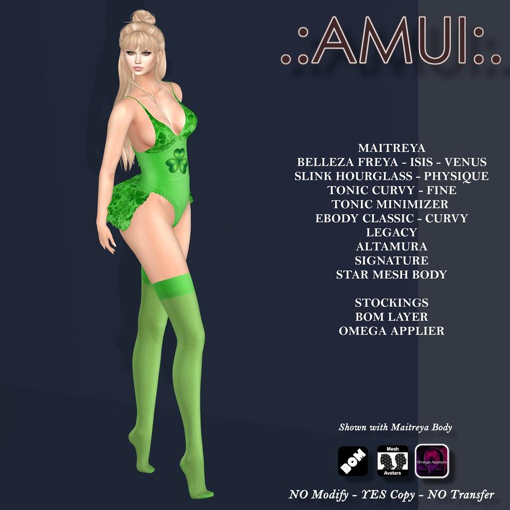 AMUI St Patricks Day LUCKY LADY