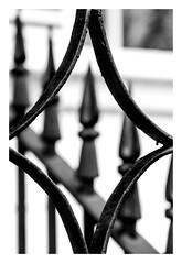 Wrought iron framing itself
