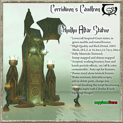Cerridwen's Cauldron Is At The Darkness Monthly Event!