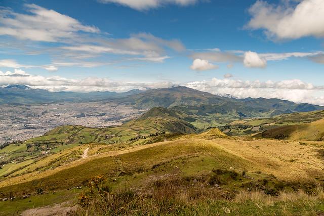 Armchair Traveling - A Breathless Vista High Above Quito, Ecuador