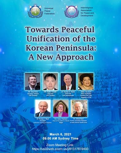 Australia-2021-03-06-Oceania Webinar Explores 'New Approach' to Korean Reunification