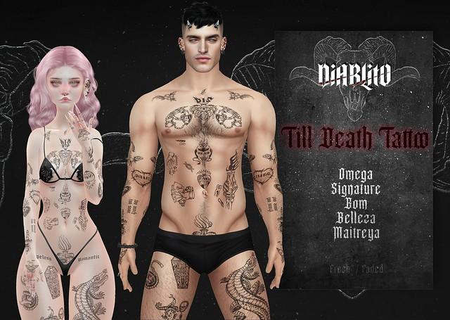 DIABLITO - Till Death Tattoo