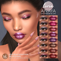 LIVIA // Anaya Eyeshadow & Lips