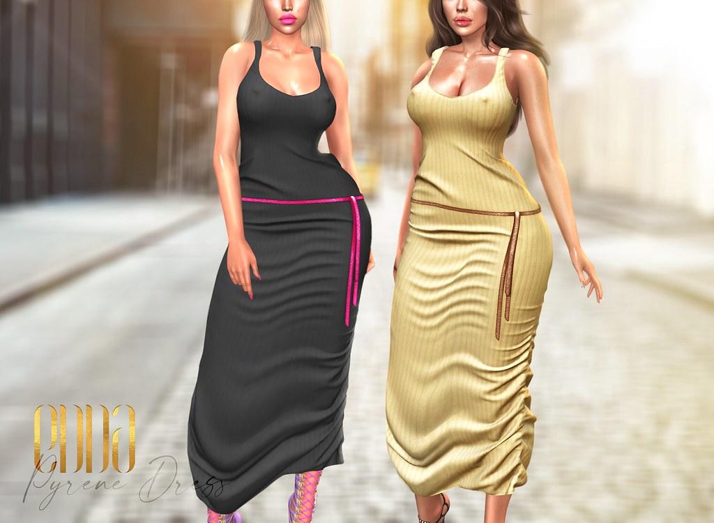 New Release@Pyrene Knitt Dress