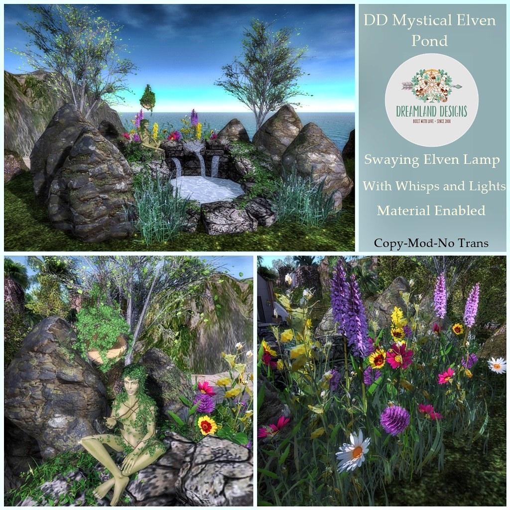 DD Mystical Elven Pond AD