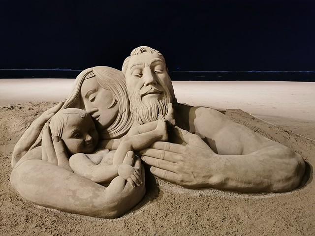 Esculturas de Arena en la Playa de las Canteras Las Palmas de Gran Canaria 58