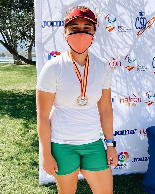María del Mar Gómez, bronce skiff sub23