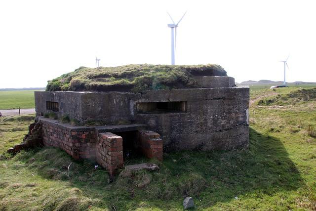 Haverigg Airfield Pillbox