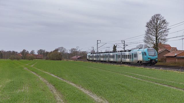 Eurobahn ET 4.08 als RB61 op pad als tr20373.