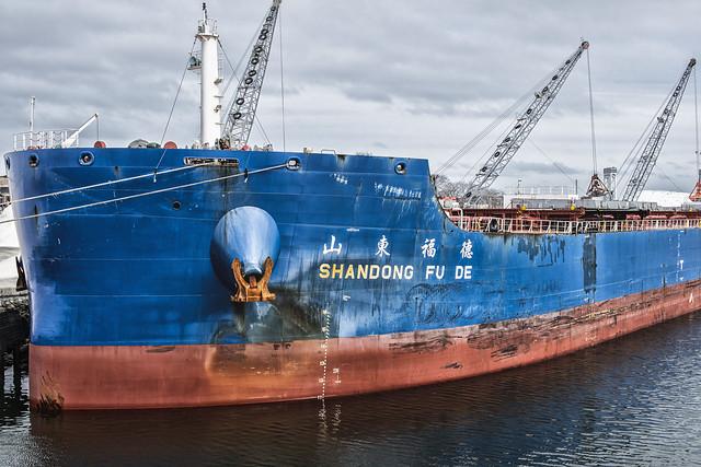 Freighter Shadong Fu De