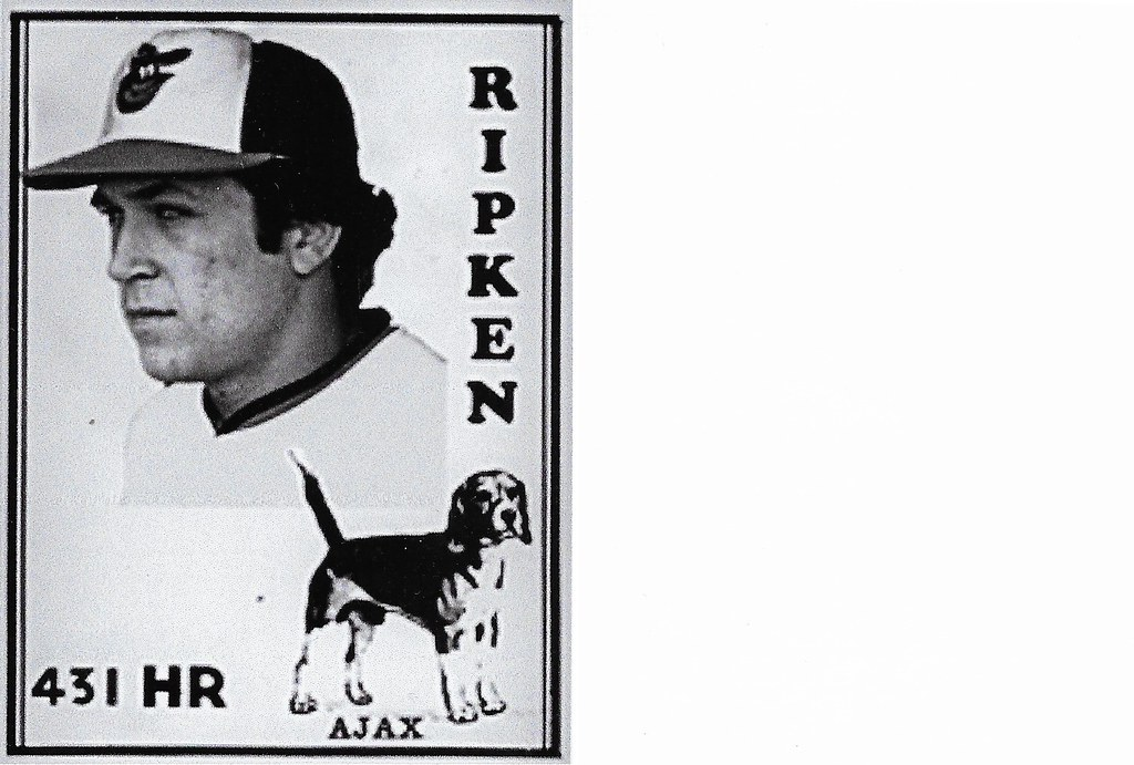 2020 Ajax Dog Food Retro Blank Back - Ripken