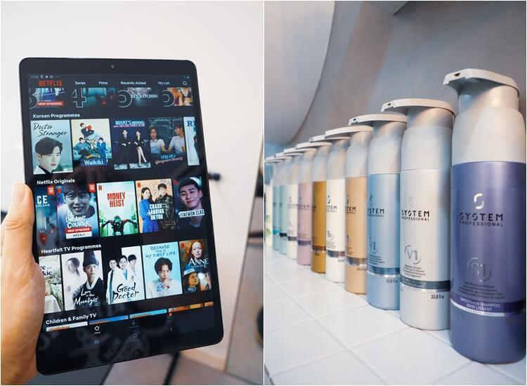 Netflix at 99 percent hair studio bugis