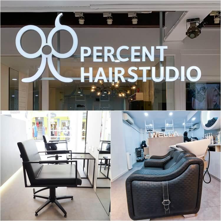 New Look at 99 Percent Hair Studio Haji Lane