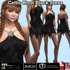 Celtic Knot BlackDalia dress PIC