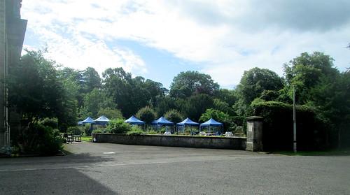 Tents, Balbirnie House Hotel