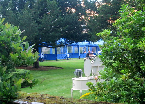 Covid Dining Tents, Balbirnie House Hotel
