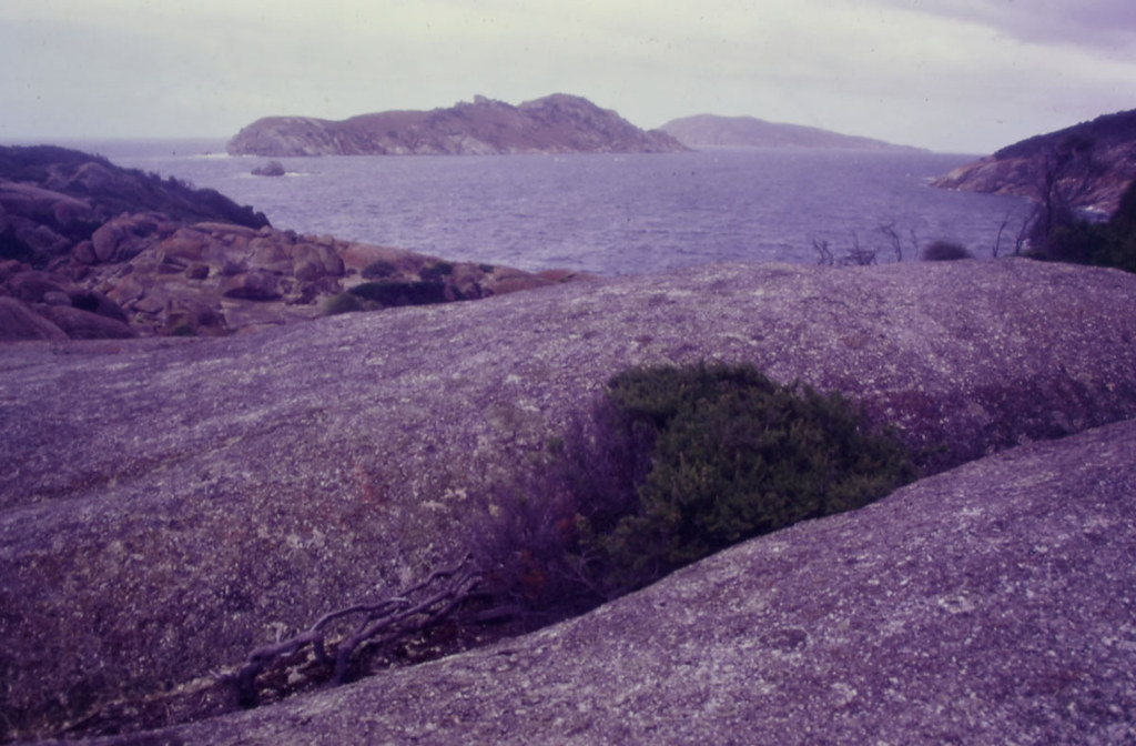 Granite, Wattle and Anser Islands, South Point, Wilsons Promontory lighthouse, VIC, 05/02/00