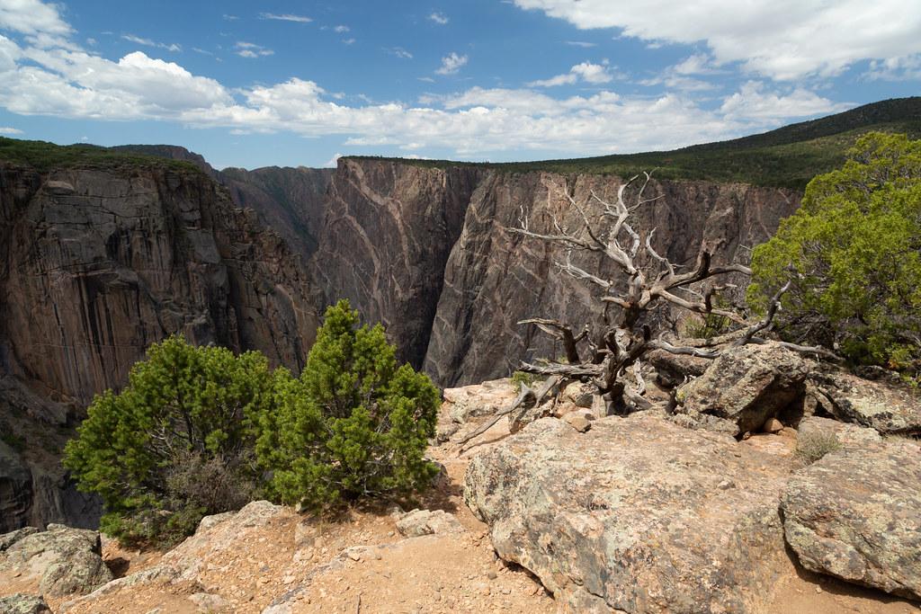 North Rim at the Black Canyon