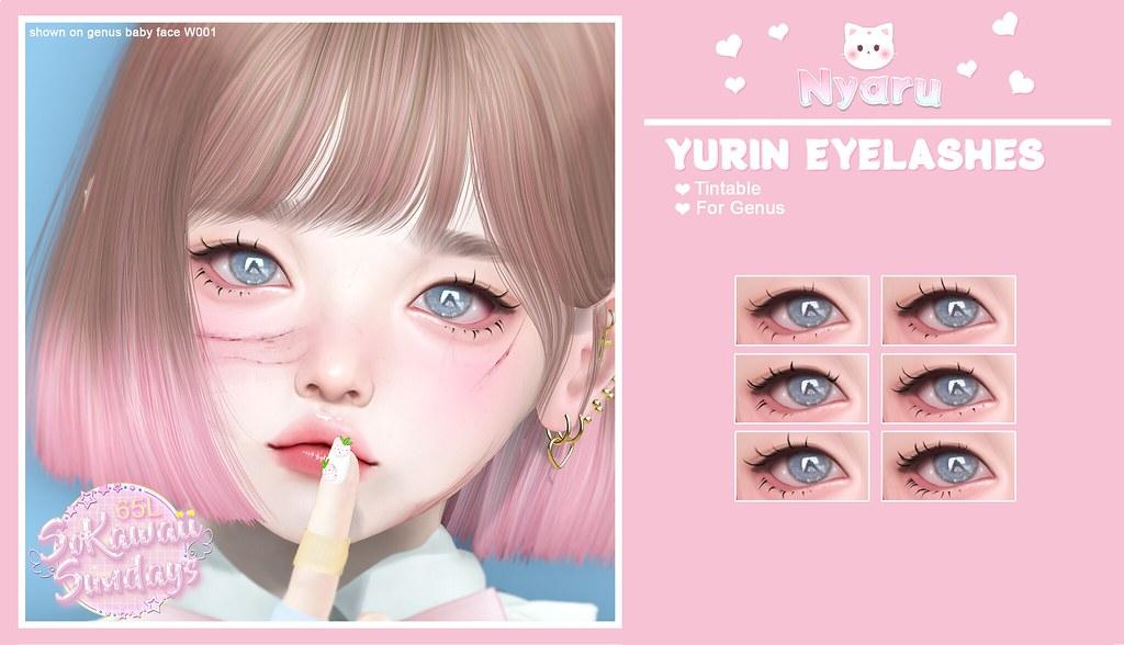 Nyaru – Yurin Lashes for SoKawaii Sundays ♡