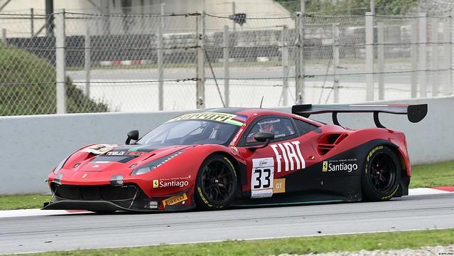 FERRARI 488 GT3 Evo / Benjamín HITES / CHL / Team Rinaldi Racing