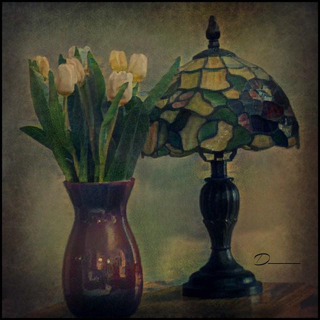 Tulips and Tiffany
