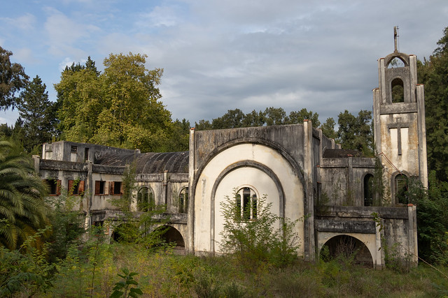 Monasterio abandonado en Brandsen
