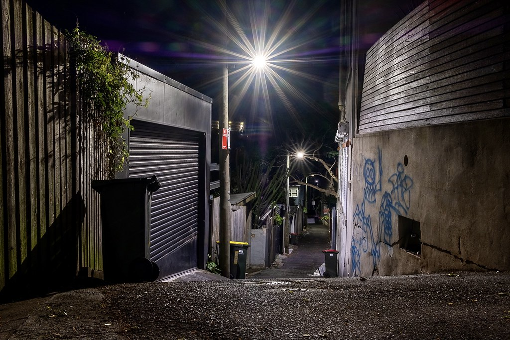 Named after a use from some time ago, Cow Lane in Sydney's Darlinghurst has a steep decline towards Rushcutters Bay.